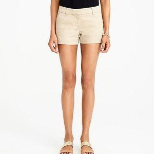 J. Crew Low Fit Khaki Chino Shorts